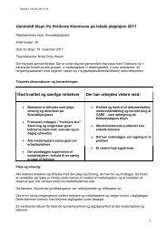 Uanmeldt tilsyn Svendebjerghave 2011.PDF - Hvidovre Kommune