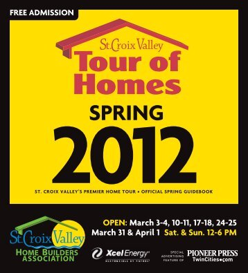 2012 Spring SCVHBA - St. Croix Valley Home Builders Association