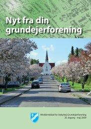 Åbyhøj Grundejerforening medlemsblad maj 2009