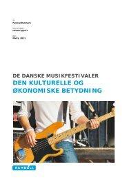 rapport - Dansk Live