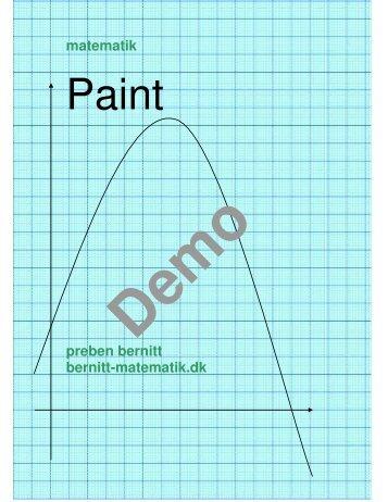Paint - Bernitt matematik