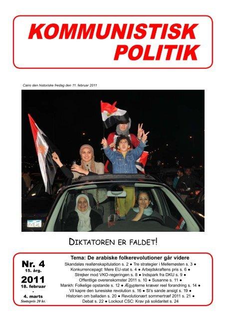 Nr. 4 2011 ! - Kommunistisk Politik