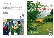 en brochure om Republikken - Broby Gamle Skole