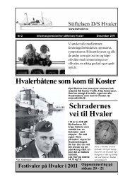 Hvaler - D/S Hvalers Venner