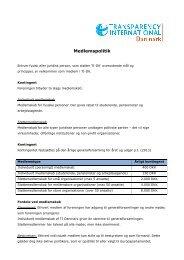 Medlemspolitik - Transparency International Danmark