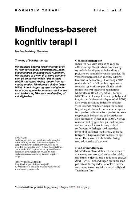 kognitiv gruppen risskov