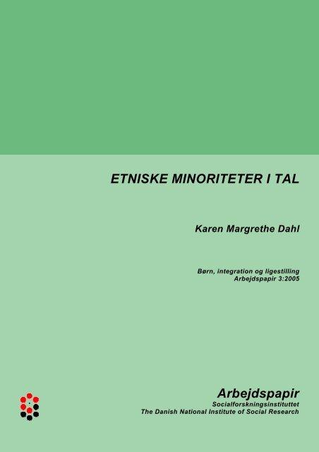 Etniske minoriteter i tal - SFI
