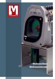 Wolframslibere Wolframelektroder - Lemvigh-Müller