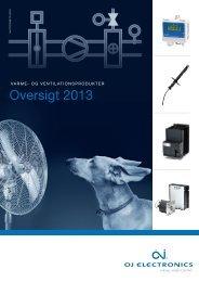 Oversigt 2013 - OJ Electronics