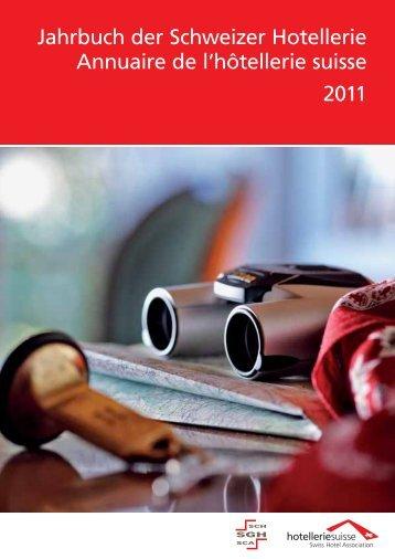 Jahrbuch der Schweizer Hotellerie 2011 - hotelleriesuisse