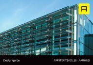 Designguide - Arkitektskolen Aarhus