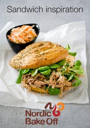 Download vores sandwichfolder her. - Nordic Bake Off A/S