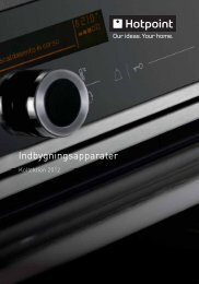 download brochure - Hotpoint - Hotpoint.eu