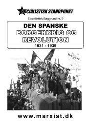 Den spanske borgerkrig og revolution 1931-1939 - Socialistisk ...