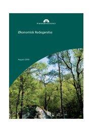 Økonomisk Redegørelse - Grundejerforeningen Taarnborg