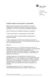 Vejledende udtalelse om kapacitetsgebyr for farligt ... - Miljøstyrelsen