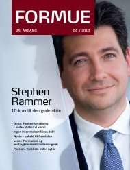 Stephen Rammer - Formuepleje