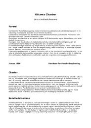 Ottawa Charter - paarisa