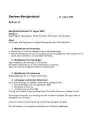 Menighedsrådsmøde 17 - Hvalsø & Særløse kirker og kirkegårde