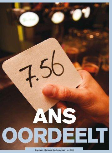 Algemeen Nijmeegs Studentenblad / juni 2013 - ANS-Online
