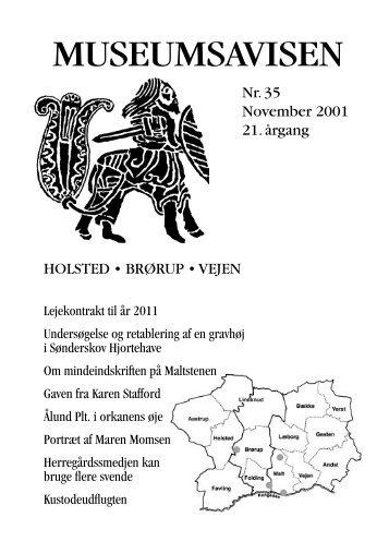 Museumsavisen 2-2001_nyx.indd - Egnsmuseet på Sønderskov
