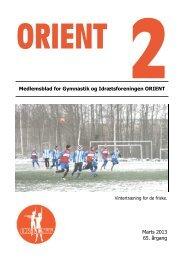 Nummer 2, 2013 - Gymnastik- og Idrætsforeningen ORIENT