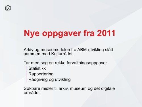 Norsk kulturråd - Hedmark fylkeskommune