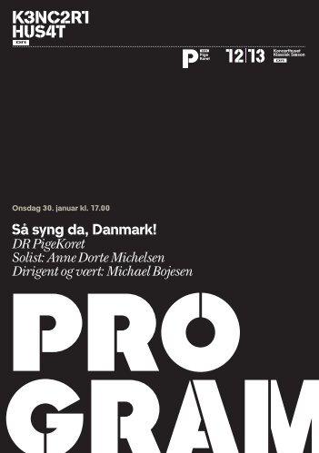 Læs koncertprogrammet - DR