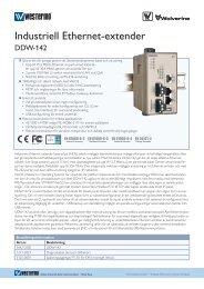 Industriell Ethernet-extender - Beijer Electronics