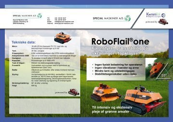 RoboFlail®one - Special Maskiner A/S