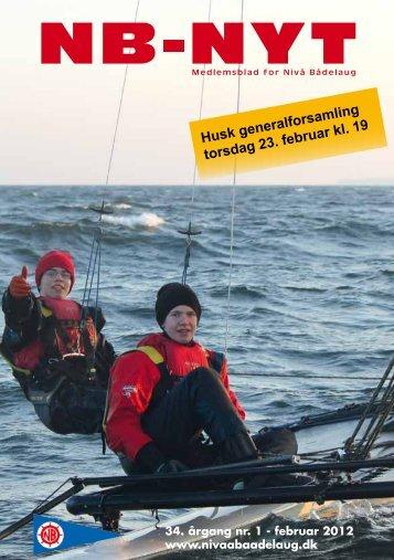 Husk generalforsamling torsdag 23. februar kl. 19 - Nivå Bådelaug ...