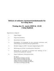 Referat af ordinært repræsentantskabsmøde for S/I Ishøj Havn ...