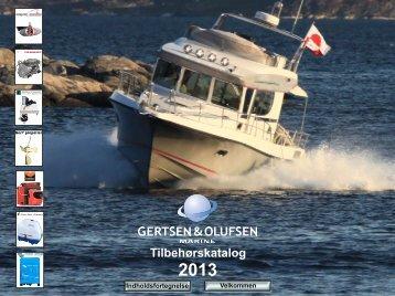 Tilbehørskatalog 2013 - Gertsen & Olufsen