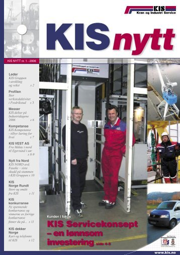 KIS nytt nr. 1 - KIS AS