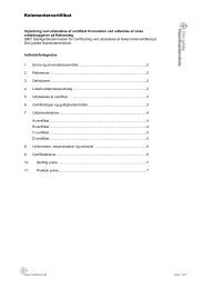 certificering af Kølemontører - Den jydske Haandværkerskole