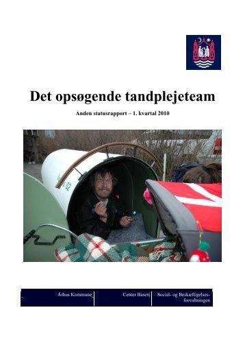 Statusrapport 2 - 1. kvartal 2010 - Aarhus.dk