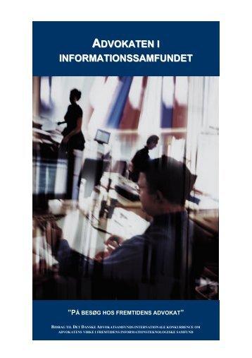 advokaten i informationssamfundet - Legal Risk Management