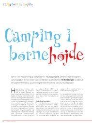 TEMA Born på camping