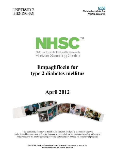 nhs cks diabetes tipo 2