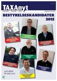 Bestyrelseskandidater 2012 - Taxa 4x35