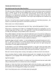 Læs elevrådsformandens tale