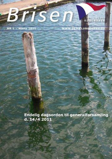Endelig dagsorden til generalforsamling d. 14/4 2011 - Sejlklubben ...