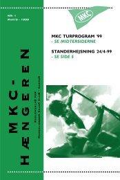 Hængeren 1-99 - Marselisborg Kajak Club