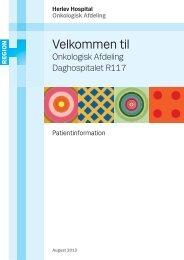 Velkommen til Daghospitalet R117 - Herlev Hospital