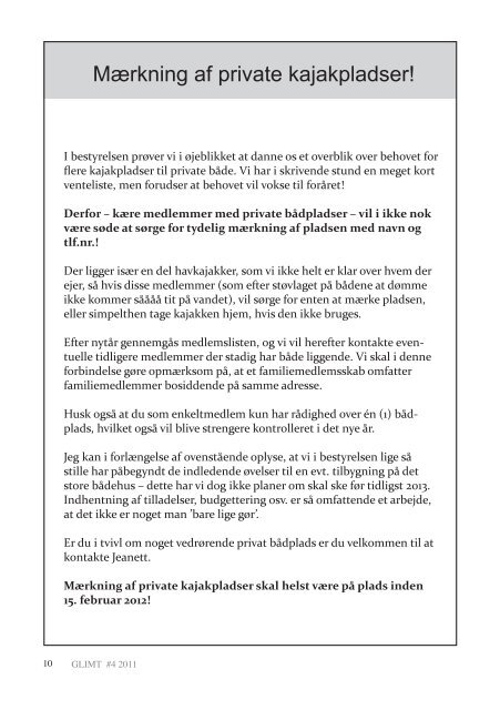 Eventyr & Udvikling - Kano- og Kajakklubben Gudenaa