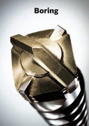 Boring - Bosch el-værktøj