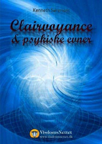 CLAIRVOYANCE & PSYKISKE EVNER - Kenneth ... - Visdomsnettet