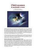 CLAIRVOYANCE & PSYKISKE EVNER - Kenneth ... - Visdomsnettet - Page 3