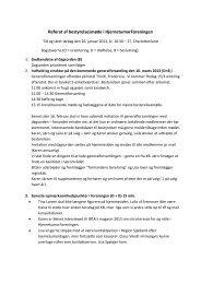 Referat fra bestyrelsesmødet d. 26. januar 2013 - Kræftens ...
