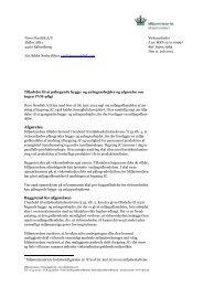 Afgørelse om ingen VVM-pligt - Miljøstyrelsen